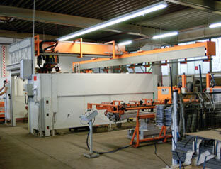 Dalex- Roboterschweißanlage